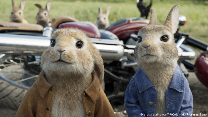 Film-Box Office Film-Still Peter Rabbit (picture alliance/AP/Columbia Pictures/Sony)