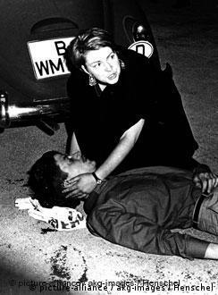 El estudiante Benno Ohnesorg, asesinado durante una manifestación contra el Sha de Irán.