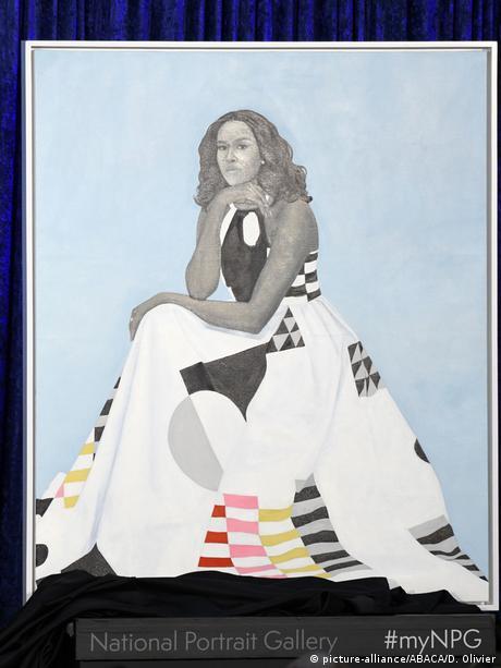 barack and michelle obama portraits unveiled in washington news