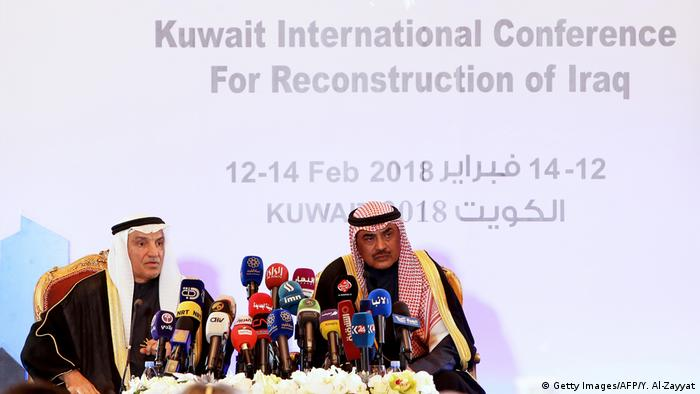 In Kuwait, NGOs, governments and private companies pledge support for Iraqi reconstruction