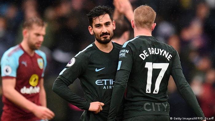 Fußball Ilkay Gündogan Manchester City