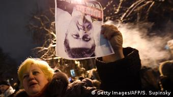 Під час акції на підтримку Саакашвілі біля Адміністрації президента України