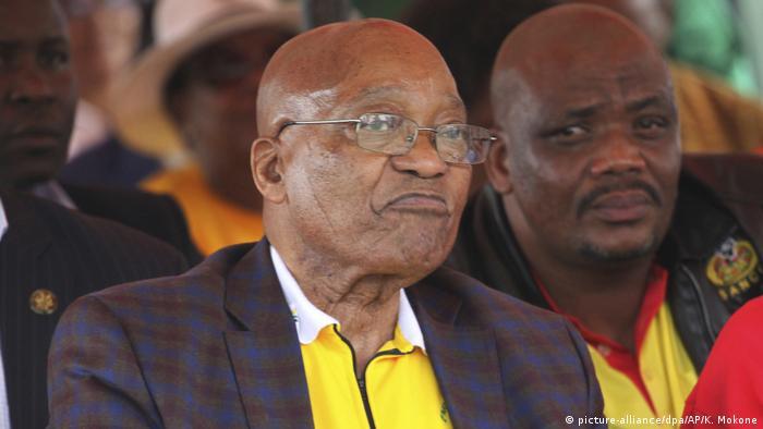Südafrika Präsident Jacob Zuma