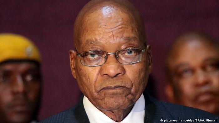 Former South African President Jacob Zuma
