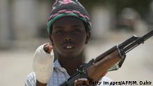 Somalia Kindersoldaten