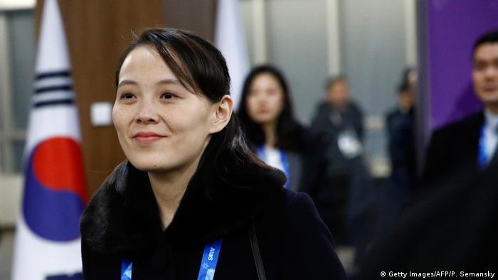 Pyeongchang 2018 Winter Olympia Kim Jong Un's Schwester Kim (Getty Images/AFP/P. Semansky)