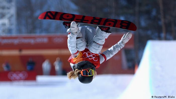 Pyeongchang 2018 Winter Olympia Snowboarding Women's Halfpipe Finals (Reuters/M. Blake)