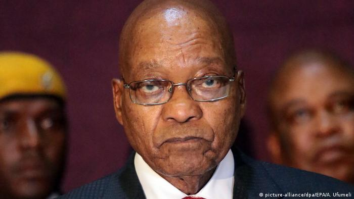 Südafrika Jacob Zuma (picture-alliance/dpa/EPA/A. Ufumeli)