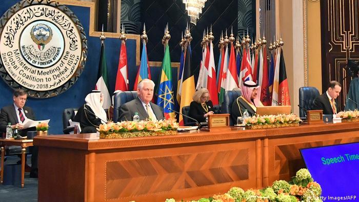 Kuwait Außenministertreffen der Koalition gegen die Terrormiliz Islamischer Staat IS (Getty Images/AFP)