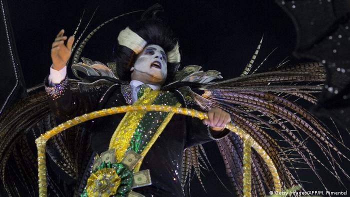 Karneval in Rio de Janeiro 2018 (Getty Images/AFP/M. Pimentel)