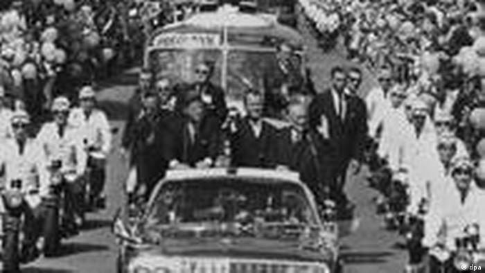 John F. Kennedy auf Staatsbesuch in Deutschland. (Foto: dpa)