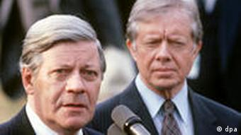 Helmut Schmidt in den USA 1980