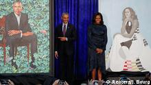 USA National Portrait Gallery enthüllt Porträts von den Obamas