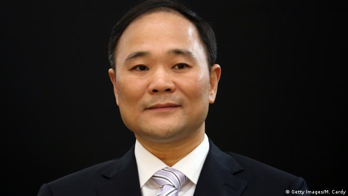 Geely Holding Group boss Li Shufu