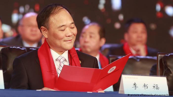 Geely boss Li Shufu