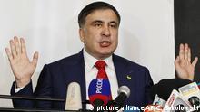 Polen Saakaschwili will in die Ukraine zurückkehren