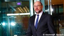 Martin Schulz announces his resignation as SPD head (Reuters/F. Bensch)