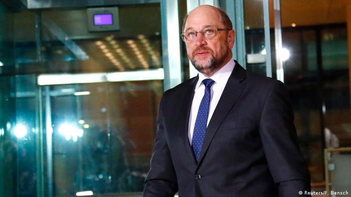 Martin Schulz, former leader of Germany′s Social Democrats in