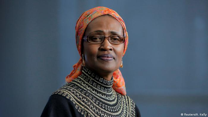 Oxfam Internationale Exekutivdirektorin Winnie Byanyima