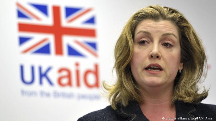 Menteri Inggris Penny Mordaunt menuntut pertanggungjawaban managaer Oxfam