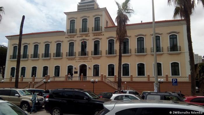 Sitz der Generalstaatsanwaltschaft - Angola (DW/Borralho Ndomba)