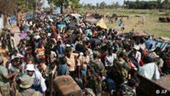 آوارگان غیرنظامی در سریلانکا