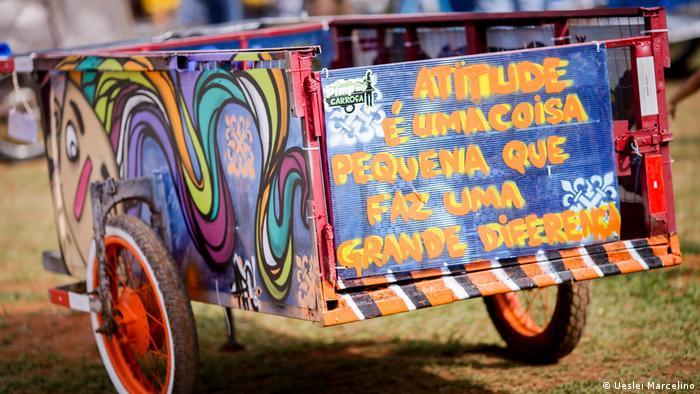 Brasilien Müllwagen