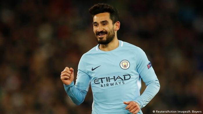 Fußball Champions League - Basel vs Manchester City Tor 0:4