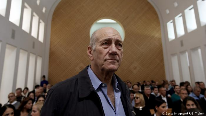 Israel Ehud Olmert (Getty Images/AFP/G. Tibbon)
