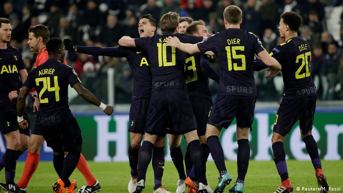 Fußball Champions League - Juventus vs Tottenham Hotspur Ausgleich 2:2