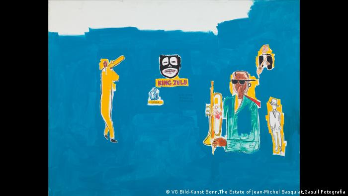 Jean-Michel Basquiat, King Zulu, 1986. (VG Bild-Kunst Bonn,The Estate of Jean-Michel Basquiat,Gasull Fotografia)