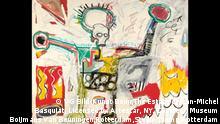 Jean-Michel Basquiat, Ohne Titel, 1982, Acryl und Öl auf Leinen, Museum Boijmans Van Beuningen, Rotterdam