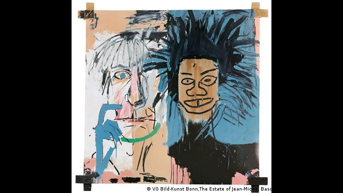 Jean-Michel Basquiat, Dos Cabezas, 1982. (VG Bild-Kunst Bonn,The Estate of Jean-Michel Basquiat. Licensed by Artestar,NY)