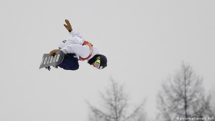 Pyeongchang Winter Olympics, Snowboard, Ayumu Hirano (picture-alliance/G.Bull)
