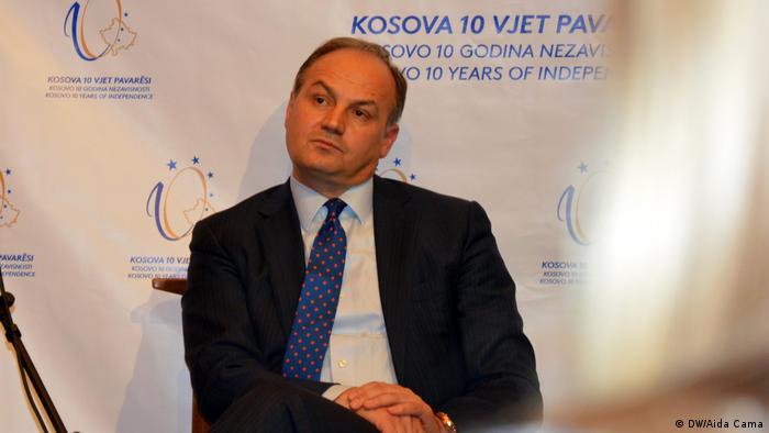 New York, Enver Hoxhaj, Veranstaltung 10 Jahre Unabhängigkeit Kosovos