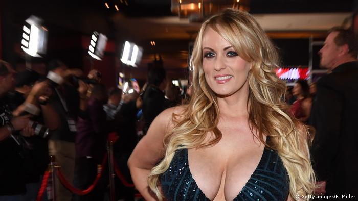 Порноакторка Стефані Кліффорд, відома як Stormy Daniels