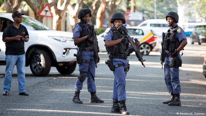 Buscas a casa de família Gupta, em Joanesburgo