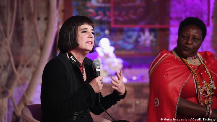 V-Day 20. Jahrestag Veranstaltung Eve Ensler (Getty Images for V-Day/D. Kotinsky)