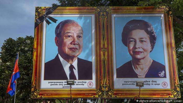 King and Queen of Cambodia (picture-alliance/Godong/P. Lissac)