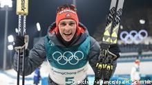 Pyeongchang 2018 Olympische Winterspiele Nordische Kombination Sieger Eric Frenzel