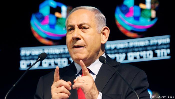 Benjamin Netanyahu in Tel Aviv