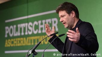 Deutschland Politischer Aschermittwoch - Grüne - Robert Habeck