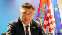 Belgien EU | Andrej Plenkovic, Premierminister von Kroatien