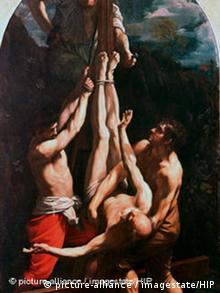 Guido Reni's cruxifixion of Christ