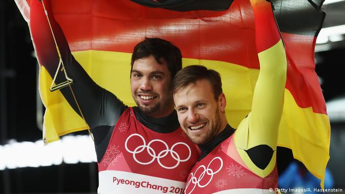 Südkorea Pyeongchang Olympische Winterspiele 2018 | Tobias Wendl und Tobias Arlt (Getty Images/A. Hassenstein)