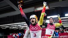 Südkorea Pyeongchang Olympische Winterspiele 2018 Tobias Arlt Tobias Wendl Rodler