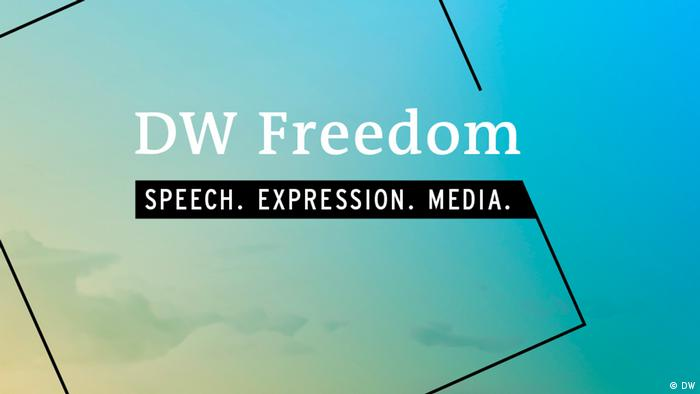 Teaser groß + Overlay | DW Freedom Speech. Expression. Media. (DW)