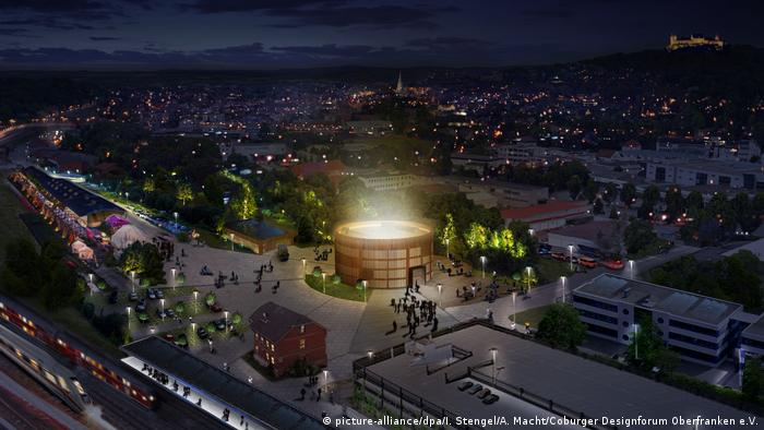 Globe Theater für Coburg (picture-alliance/dpa/I. Stengel/A. Macht/Coburger Designforum Oberfranken e.V.)