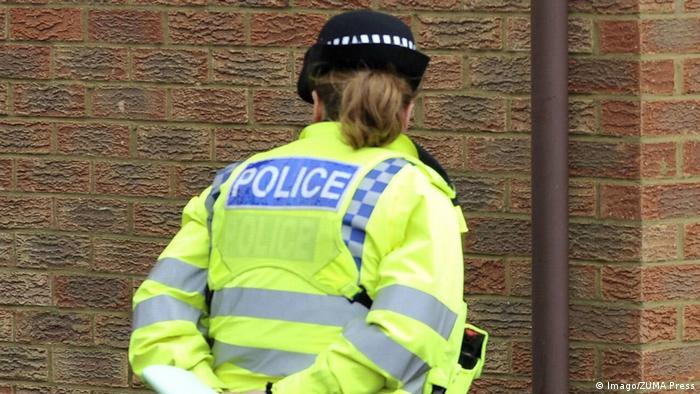 UK police officer in Milton Keynes