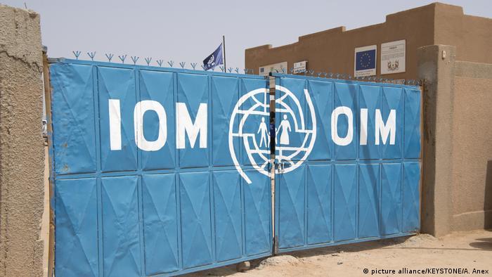 Niger Flüchtlingsdrehkreuz Agadez   IOM